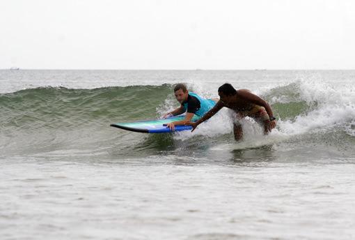 Surf Discovery на пляже Куты