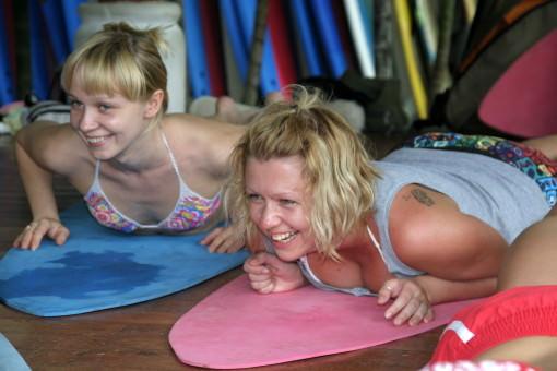 Surf Van Camp - хроники с полей