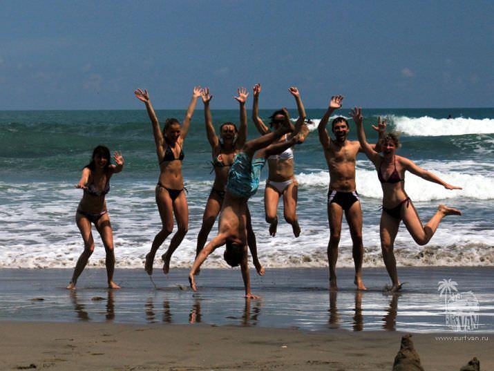 Дневник майского Surf van Camp