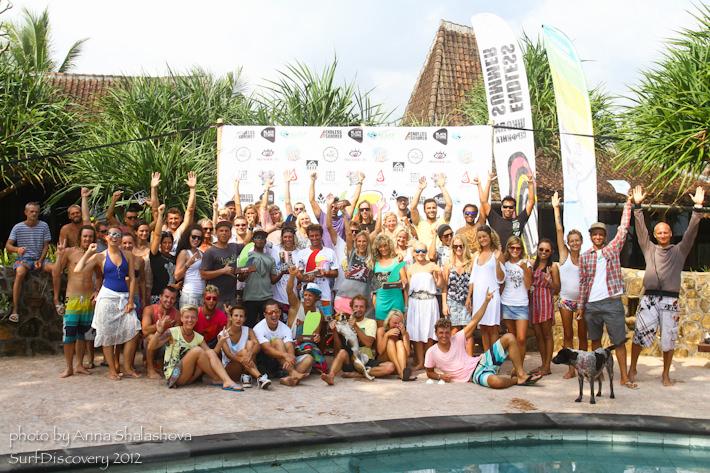 SurfJam 2012 — Шорт борд!
