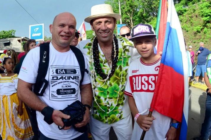 President of the International Surfing Association - Fernando Aguerre