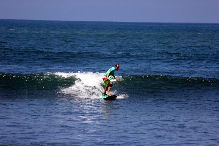 Сёрфинг на Медеви