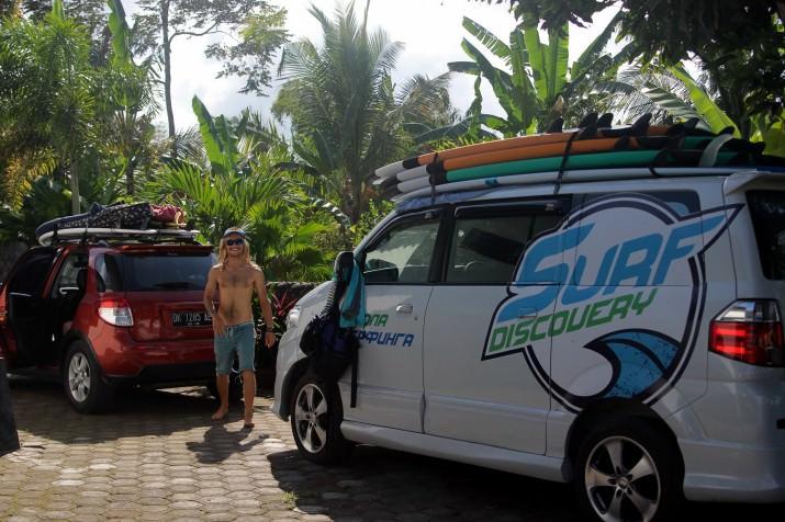 Приехали серфить