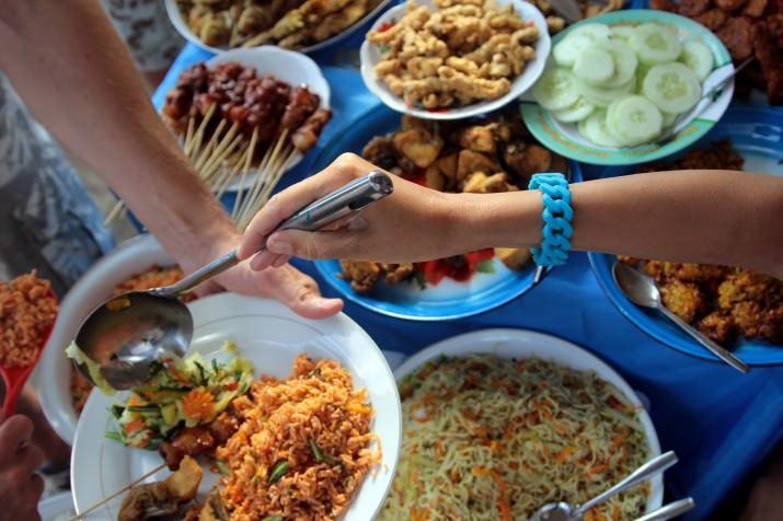 Традиционный балийский ужин