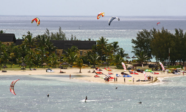 Кайт-серфинг на Маврикии