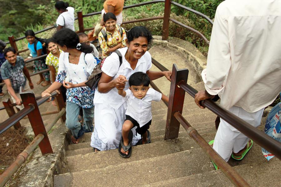 Местное население Шри-Ланки