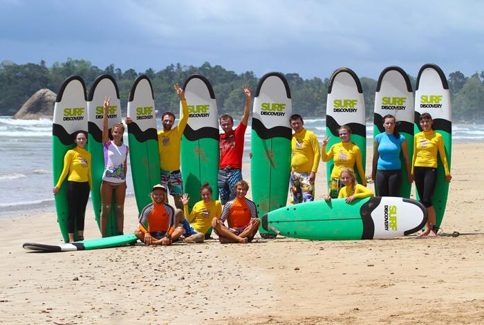 Отчёт осеннего Surf Van Camp на Шри-Ланке.