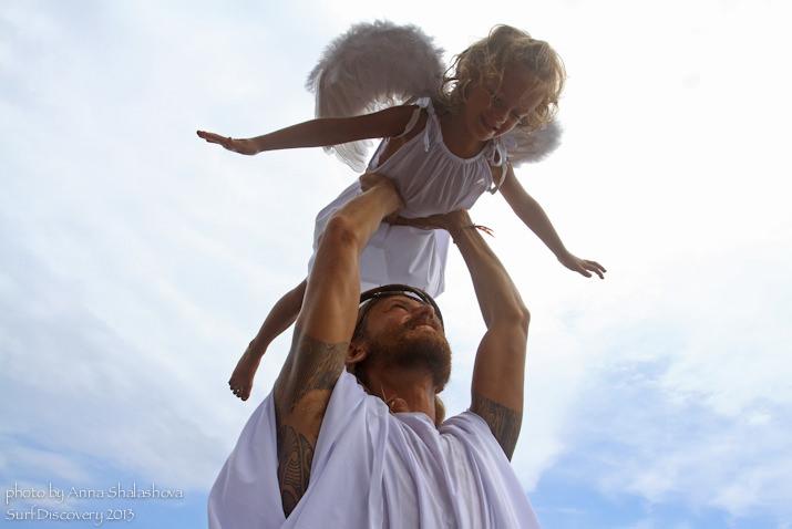 Иисус с ангелочком