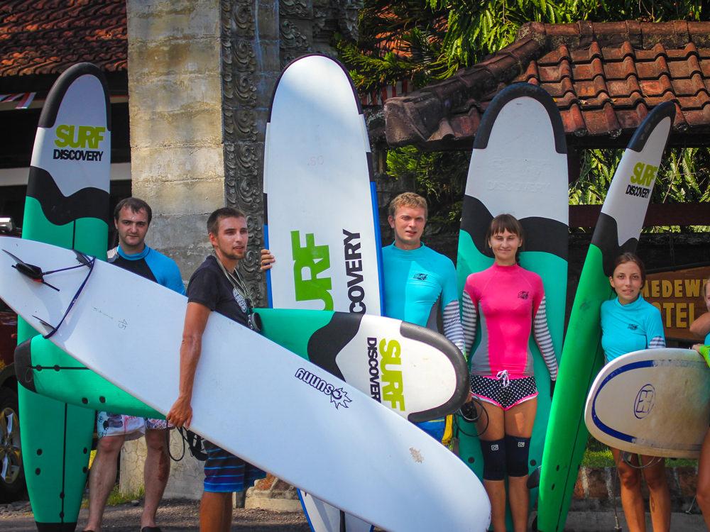 Лагерь Surf Intensive на Медеви