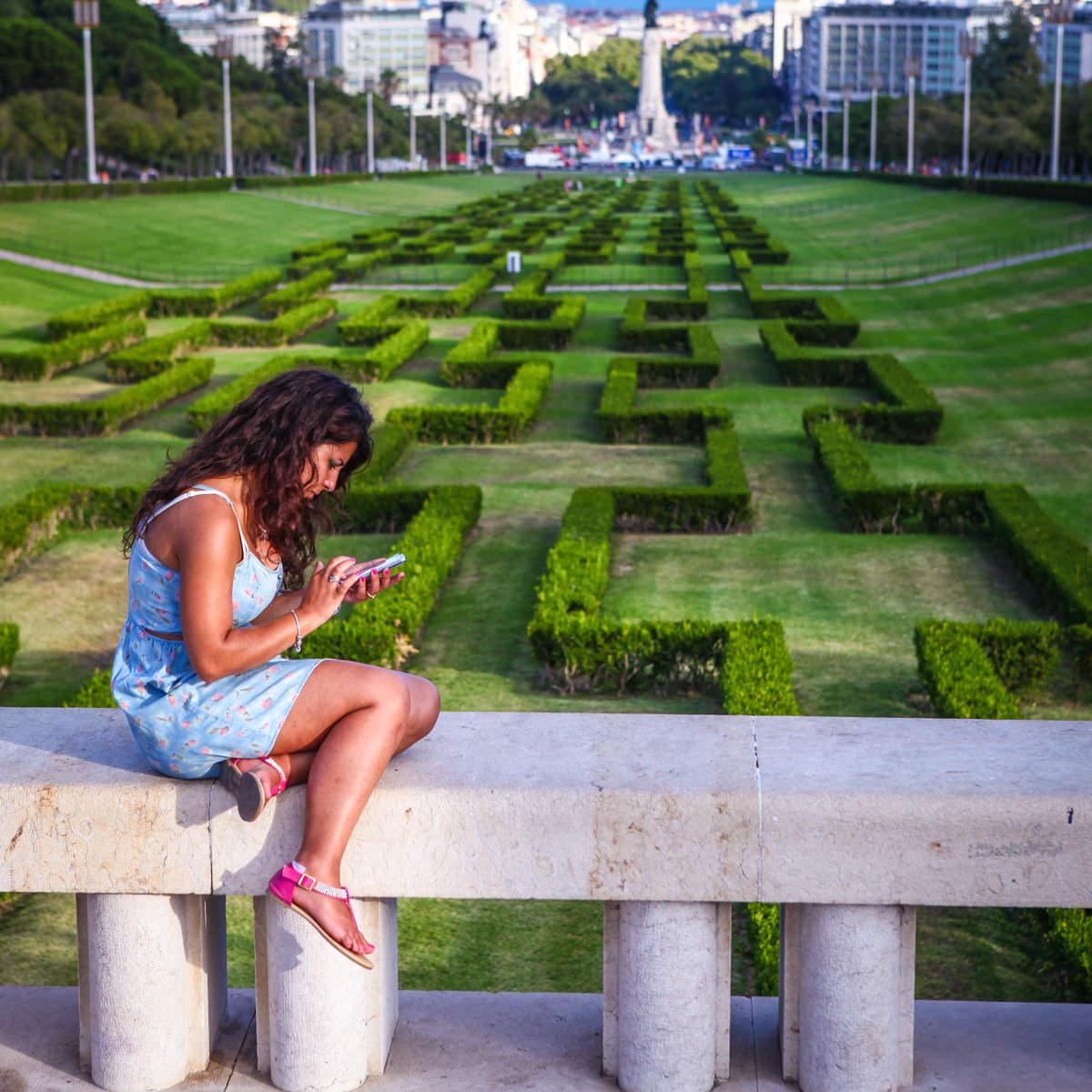 парк в Лиссабоне