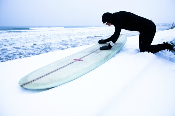 Серфинг в снегу