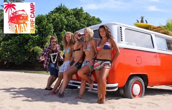 Открытие Surf Van Camp