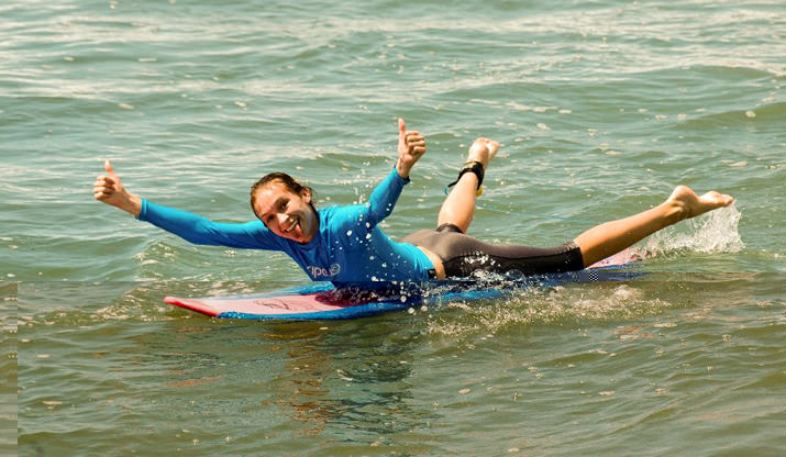 Реальный серфинг за четыре дня