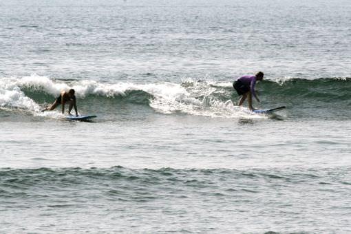 Surf Van Camp на досках