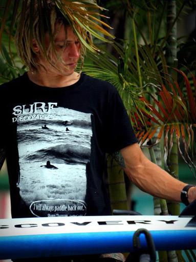 Новые футболки от SurfDiscovery