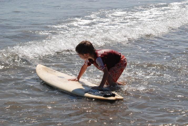 Детский серфинг