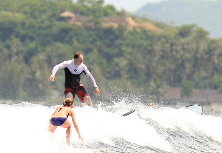 Волна и человек