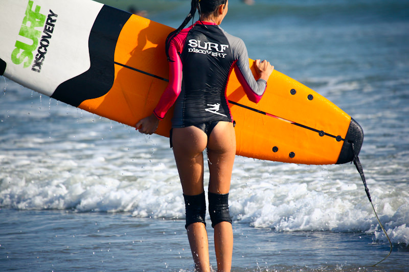 Серф-улов недели: красивые девушки, эффектные уборки, зачетные проезды