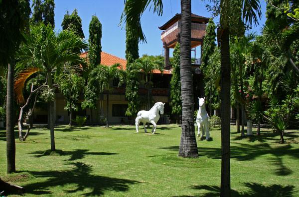 Двор Школы серфинга на Бали SufDiscovery