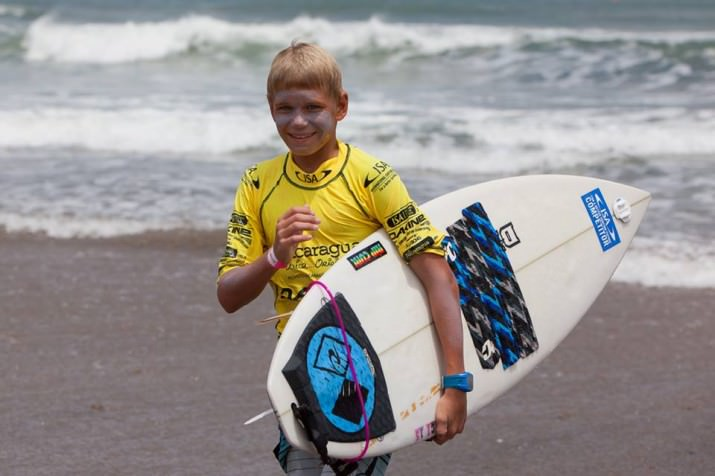happy surfer