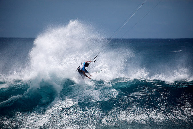 Кайтсерфинг на Маврикии