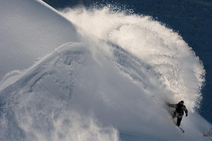 Snow-Surfing