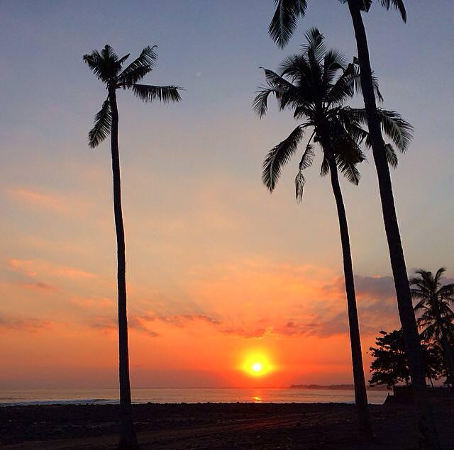 medewi sunset