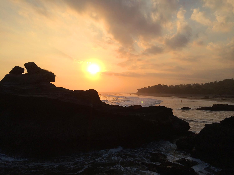 Balian-sunset